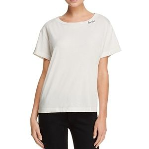 Mother Denim Womens Med Bad News Top Soft tee New